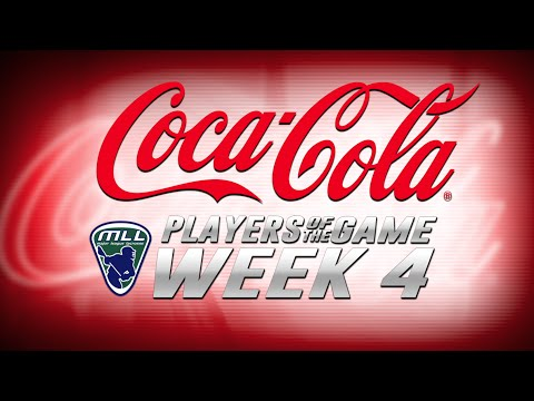 MLL Coca-Cola Players of the Game Week 4