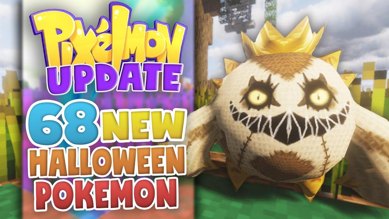 68 NEW Halloween Pokemon in Pixelmon! | Pokecentral Network