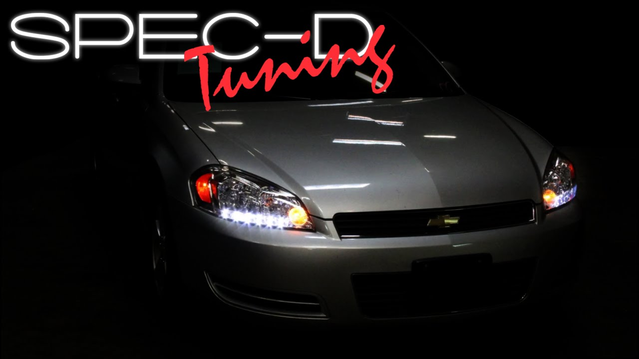 Specdtuning Installation Video 2006 2017 Chevy Impala Headlights 2016 Limited