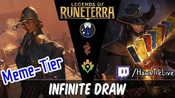 Infinite Draw: We need more mana to cast all these! l Legends of Runeterra
