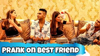 Prank on my best friend😂 || Paras thakral