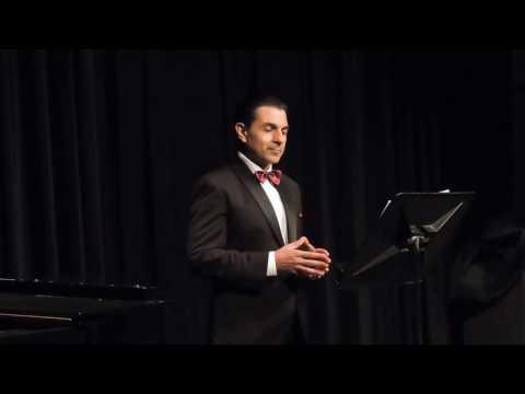 Marcelo Otegui canta/sings   Es war einmal ein König - Beethoven