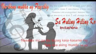 Sa Huling Hiling Ko - Dan Nieva