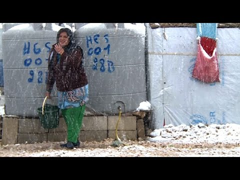 New Year Brings Winter Weather for Syrian Refugees
