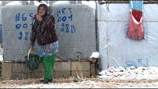 New Year Brings Winter Weather for Syrian Refugees thumbnail