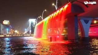 قناة دبي المائية بين الليل والنهار