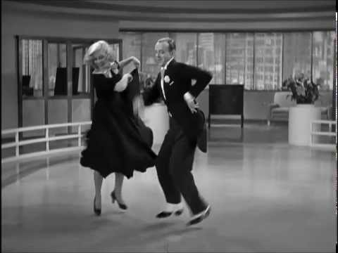 Ginger Rogers and Fred Astaire Swing Time