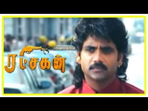 Ratchagan Tamil Movie Scenes | Nagarjuna Joins Girish Karnad's Factory On A Condition | Sushmita Sen