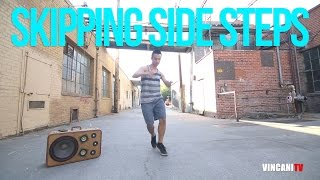How to Breakdance | Skipping Side Steps | Top Rock Basics