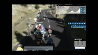 Bizzare stage on the tourmalet pcm 2010 (HD Version)
