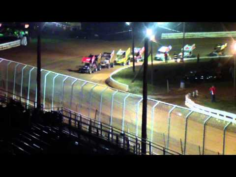 Port Royal Speedway 305 Sprint Car and Super Sportsman Highlights 10-12-13