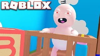 I BECAME A BABY IN ROBLOX!?