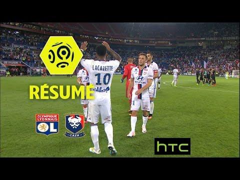 Olympique Lyonnais - SM Caen (2-0)  - Résumé - (OL - SMC) / 2016-17