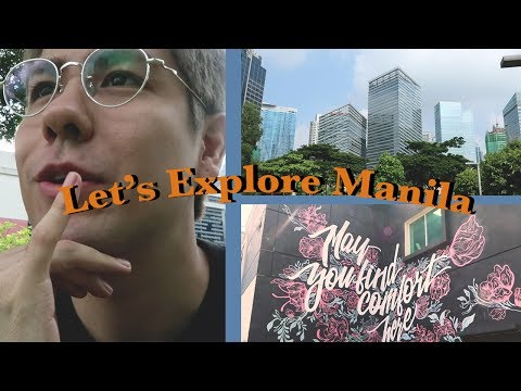 Let's Explore Manila, Philippines // Vlog