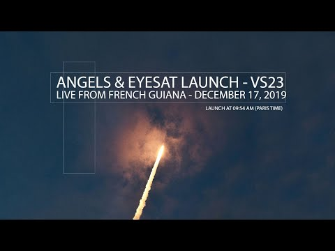 [Live] VS23 ANGELS & EyeSat Launch