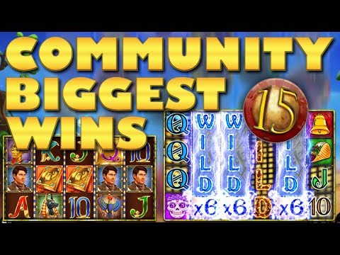CasinoGrounds Community Biggest Wins #15 / 2018