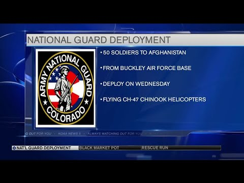Colorado Guard helicopter unit will deploy to Afghanistan