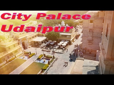 उदयपुर City Palace Udaipur.Top tourist attraction of Rajasthan,India.Best in India for tourists