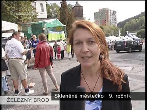 ŽELEZNÝ BROD - Skleněné městečko 2015