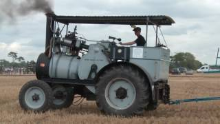 Steam Traction Engine Ploughing