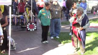 Gourd Dance Honoring Veteran Bernard Duran - Part 7 - Old Town Albuquerque, NM