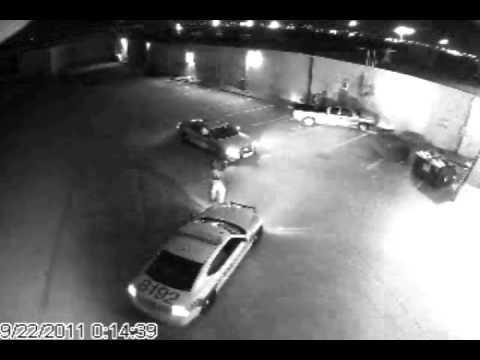 Police Arrest Rooftop Trespasser