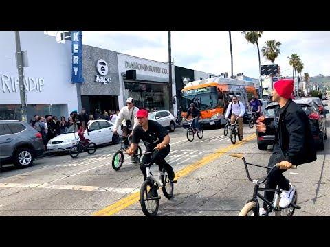 OSS x EXOTICPOP BMX STREET RIDE TAKEOVER
