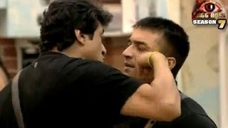 Ajaz Khan ABUSES Armaan Kohli BIG FIGHT Bigg Boss 7 1st Nov 2013 Full Episode