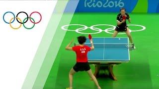 China's women's team takes table tennis gold thumbnail