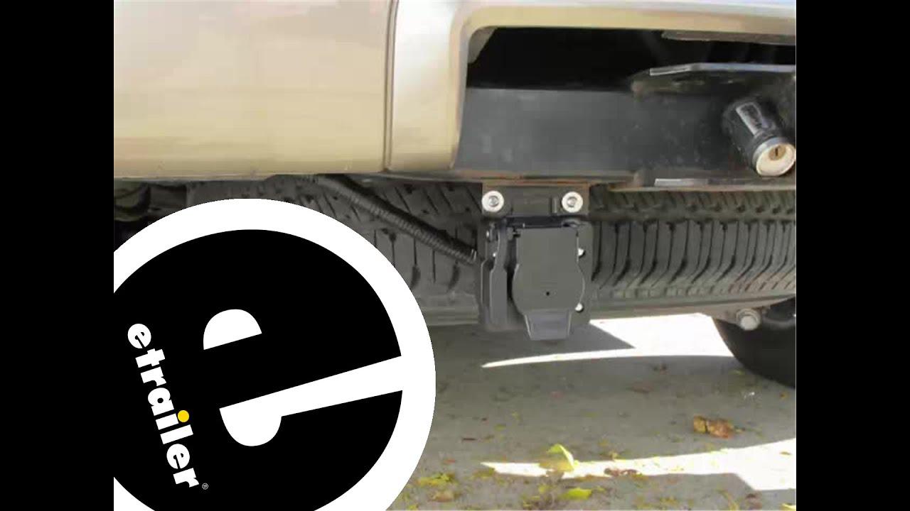 Trailer Brake Controller Installation  2004 Ford