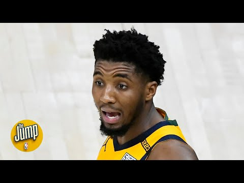 Donovan Mitchell had maybe the most egregious uncalled travel of the year | The Jump