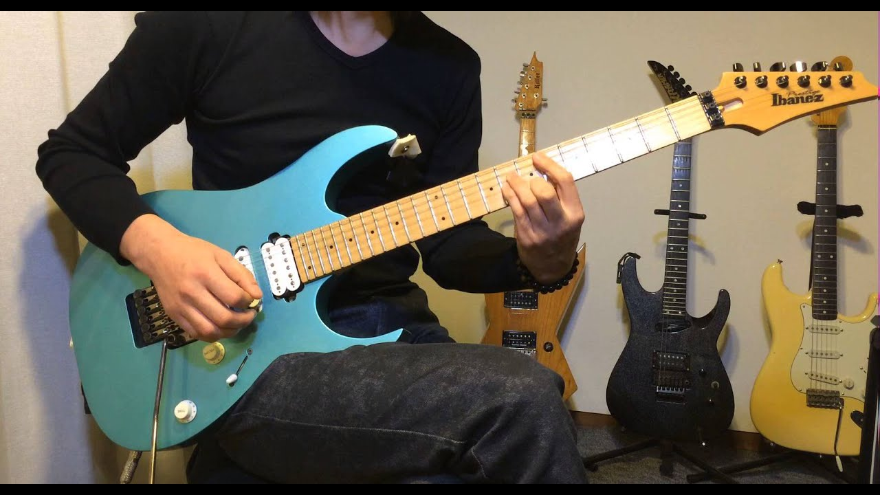 In Control / Vinnie Moore Guitar Cover