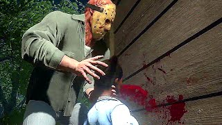 Friday the 13th Game Gameplay Demo (E3 2016)