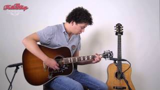 Gibson Hummingbird 2012 at The Fellowship of Acoustics