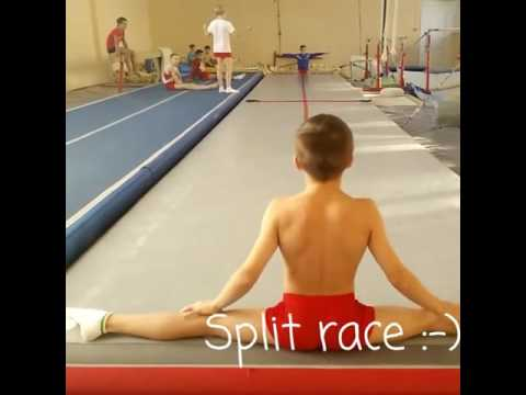 SPLIT RACE  GYMNASTICS