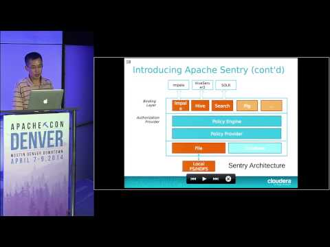 Securing your Apache Hadoop cluster with Apache Sentry - Xuefu Zhang
