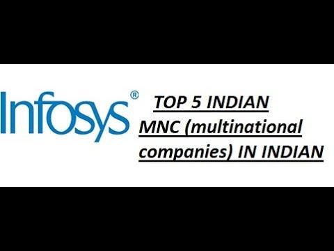 TOP 5 INDIAN MNC(Multinational corporation) .