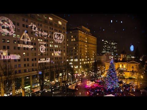 Vlog 15: Christmas Around Portland, Oregon [LastBossMonster]