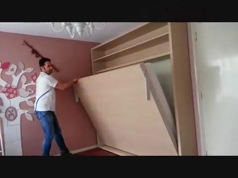 Welp Horizontale bedkast Circe van CLEI door De Beddenwinkel - YouTube OD-36