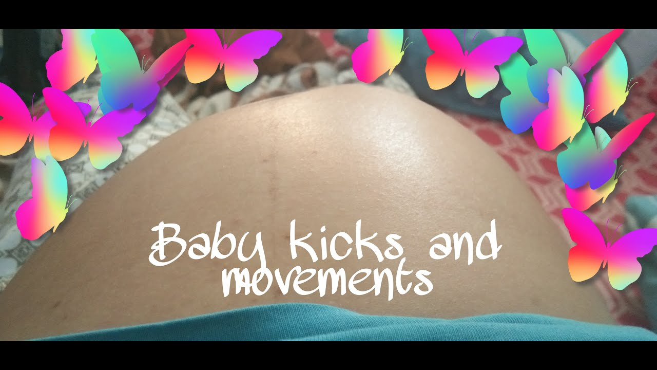 whats the earliest a baby can start kicking