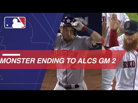 """Craig Kimbrel gets a """"Monster"""" save in ALCS Game 2 - 동영상"""
