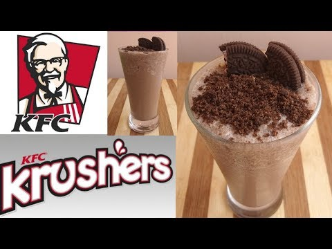 Oreo krushers. KFC