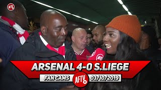 Arsenal 4-0 Standard Liege | Martinelli is Doing What Pepe Should Be Doing! (Pippa Monique)