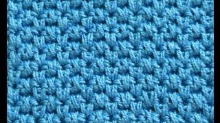 Узор Чередующиеся вытянутые петли - Crochet pattern elongated loop