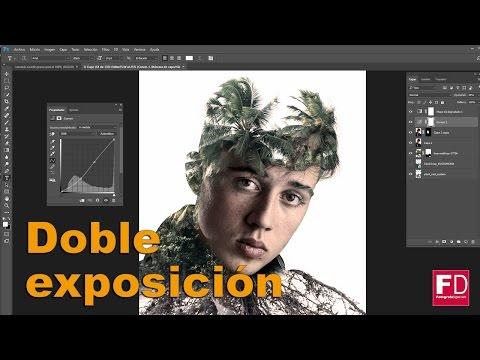 Tutorial doble exposicion en Photoshop