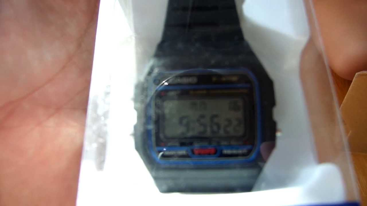 5f15b3537de4b UNBOXING AMAZON CASIO F-91W by AUDIOVISOR