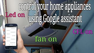 control your home appliances using smartphone, control your appliances Alexa,control your appliances