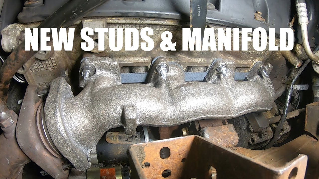 2003 ford f150 exhaust manifold replacement