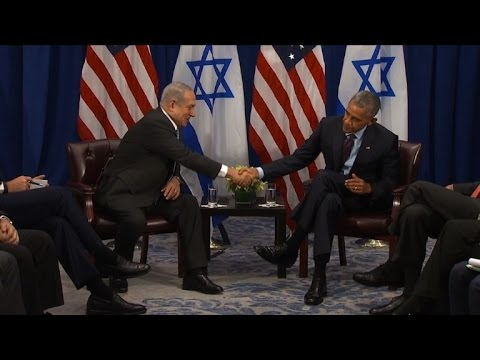 Obama, Netanyahu discuss Israeli-Palestinian conflict in NY