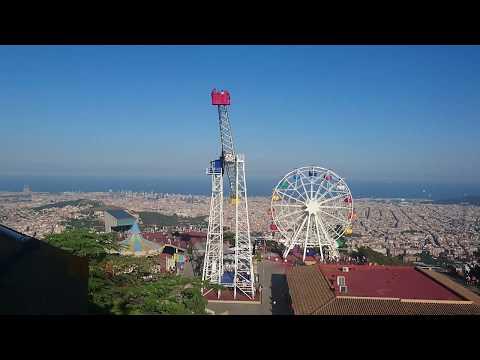 Tibidabo view. Barcelona